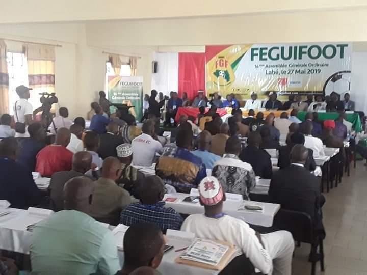 Féguifoot: l'Assemblée Générale Ordinaire se termine dans la sérénité.